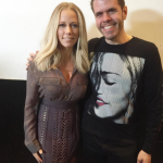 Kendra Wilkinson & Perez Hilton Chat Bucket Lists At OK! Magazine's 2016 Pre-Oscar Party