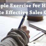A Simple Exercise to Help You Write Effective Sales Copy