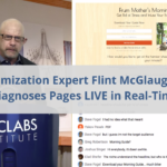 Optimization Expert Flint McGlaughlin Rapidly Diagnoses Pages LIVE in Real-Time (Part 2)
